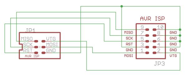 Myavr Microcontroller Shop Isp Connect Kit 10 6 Pole