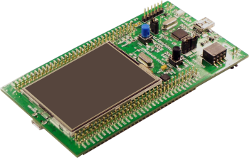 STM32F429-DISCOVERY - ARM board with touch LCD
