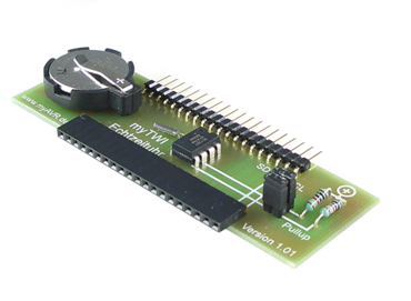 myTWI add-on real time clock, equipped