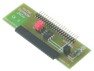 myTWI add-on eeprom, equipped