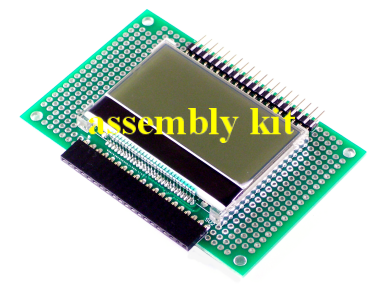 GraphicLCD Add-On 128x64, assembly kit