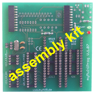 myMultiProg MK2, assembly kit