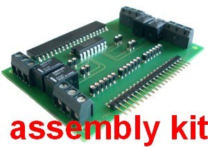myDigitalOut, assembly kit (4x relay)
