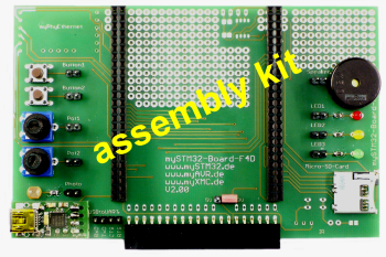 mySTM32-Board-F4D, assembly kit
