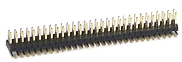 SMD multi-pin connector 2x30, RM 1,27