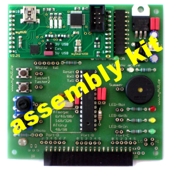 myAVR Board MK2, assembly kit