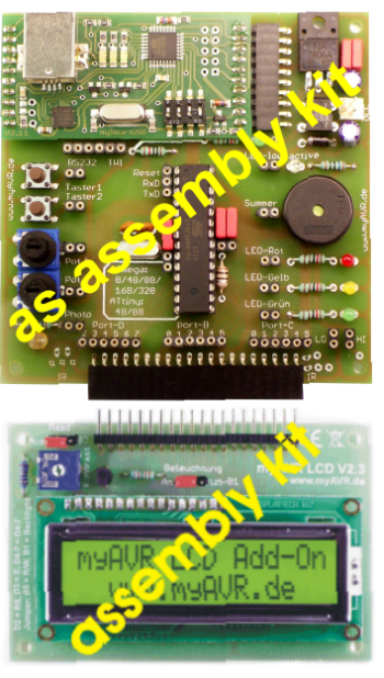 myAVR Board MK2 PLUS, assembly kit