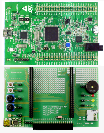 mySTM32 F4 Discovery PLUS